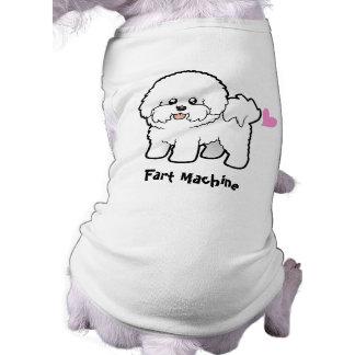 Fart Machine (Bichon Frise) Dog Tee Shirt