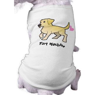 Fart Machine (labrador retriever) Doggie Shirt