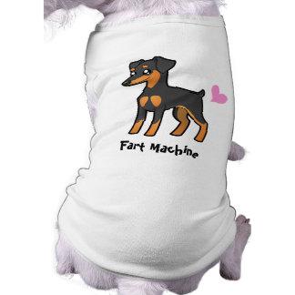 Fart Machine (Min Pin / Manchester Terrier) Dog T-shirt