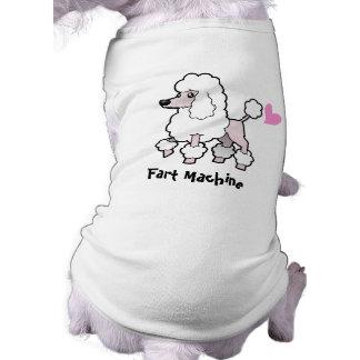 Fart Machine (poodle show cut) Doggie Tshirt