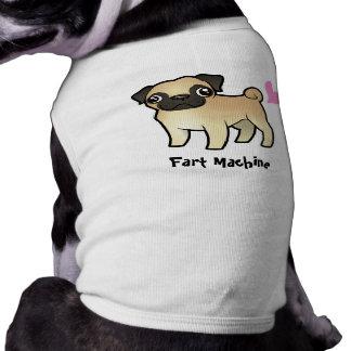 Fart Machine (pug) Dog T Shirt
