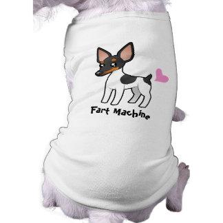 Fart Machine (Rat Terrier / Toy Fox Terrier) Doggie T-shirt