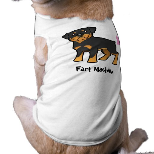 Fart Machine (rottweiler) Doggie T-shirt