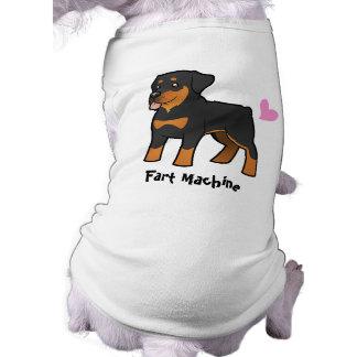 Fart Machine (Rottweiler) Dog T-shirt