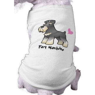 Fart Machine (Schnauzer) Doggie Shirt