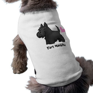 Fart Machine (Scottish Terrier) Dog Tee Shirt