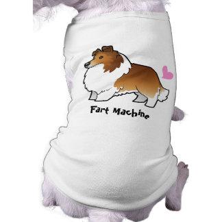 Fart Machine (Shetland Sheepdog / Collie) Doggie T-shirt