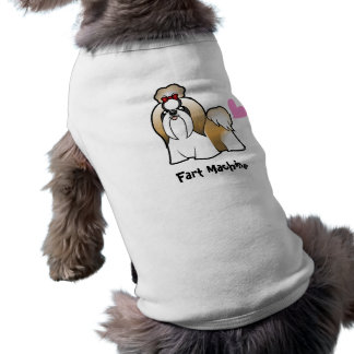 Fart Machine (shih tzu show cut) Pet T-shirt