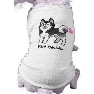 Fart Machine (Siberian Husky / Alaskan Malamute) Dog T-shirt