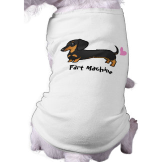 Fart Machine (smooth coat dachshund) Dog Shirt