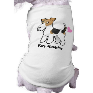 Fart Machine (Wire Fox Terrier) Doggie T-shirt