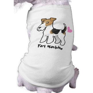 Fart Machine (Wire Fox Terrier) Pet Shirt