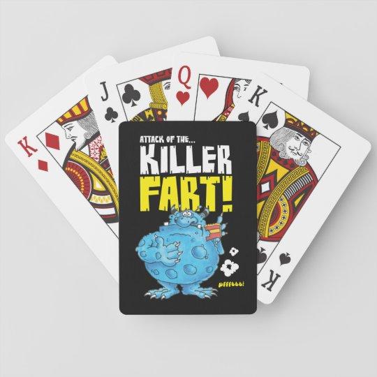 fart monster cards