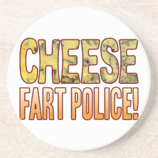 Fart Police Blue Cheese Coaster