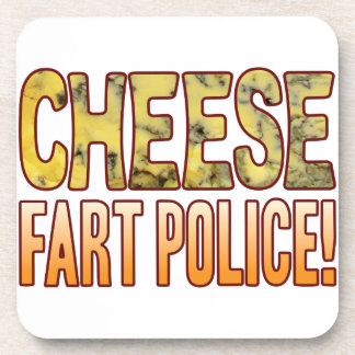 Fart Police Blue Cheese Coasters