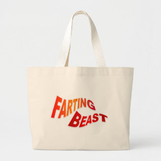 FARTING BEAST - hilarious innuendo humor Tote Bag