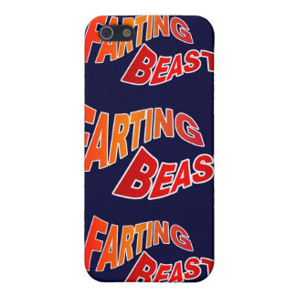 FARTING BEAST - hilarious innuendo humor iPhone 5 Covers