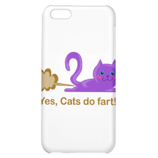 Farting cat cat farts iPhone 5C covers