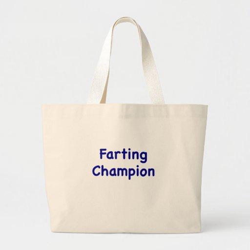 Farting Champion Bag