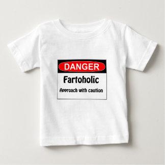 Farting Danger Fartoholic Tees