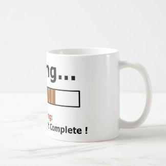 farting full coffee mug