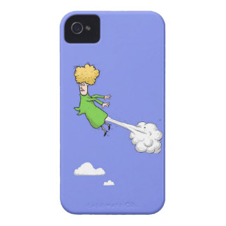 Farting Woman In The Sky iPhone 4 4s Case Case-Mate iPhone 4 Cases