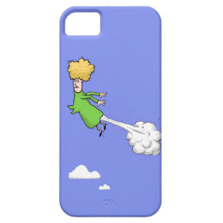 Farting Woman In The Sky iPhone 5  Case iPhone 5 Case