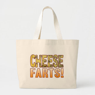 Farts Blue Cheese Jumbo Tote Bag