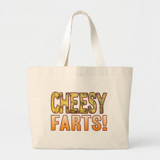 Farts Blue Cheesy Jumbo Tote Bag
