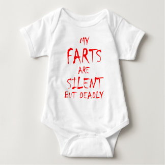 Farts - Silent but Deadly 2 Baby Bodysuit