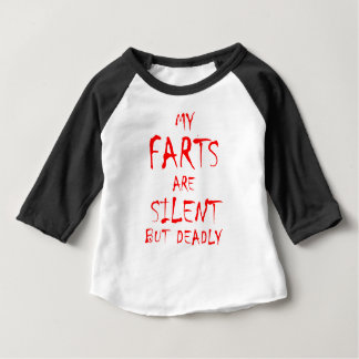 Farts - Silent but Deadly 2 Baby T-Shirt