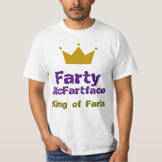 Farty McFartface - King of Farts T-Shirt