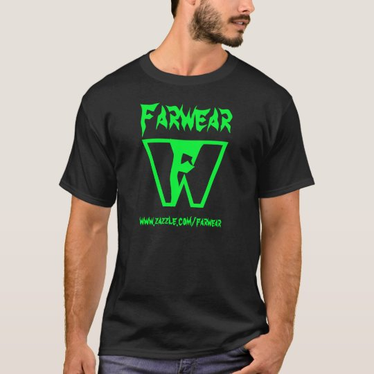 Farwear Black T-Shirt