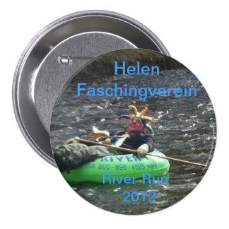 Faschingverein River Run 3 Inch Round Button
