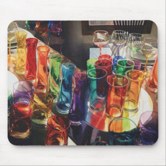 """""""Fascination"""" Art Glass Mouse Pad"""