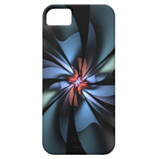 Fascination Blue and Green Abstract iPhone 5 Cases
