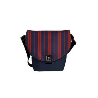 Fascination Stripes Messenger Bags