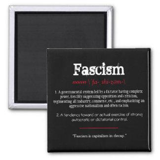 Fascism Definition Political Statement Red Magnet