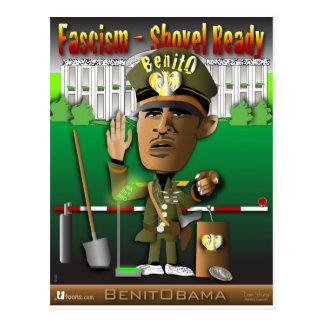 Fascisme de BenitObama Cartes Postales