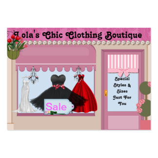 Fashioin Chic  Boutique Business Cards