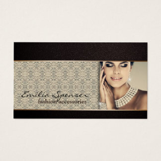 Fashion Accessories & Jewelery Business Card