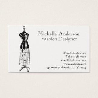 Clothing business cards image collections business card template custom dressmakers business cards zazzle fashion and clothing business card colourmoves reheart Images