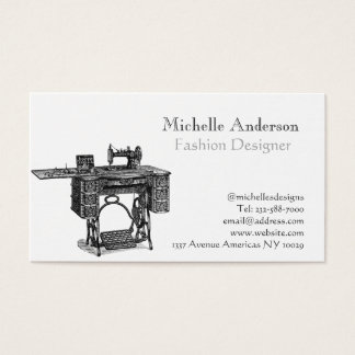 Fashion and clothing business card