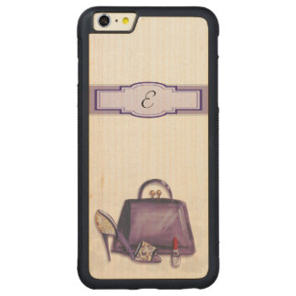 Fashion Carved Maple iPhone 6 Plus Bumper Case
