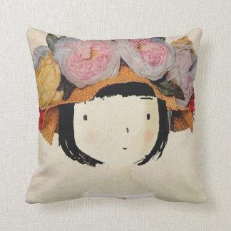 Fashion cover art throw pillow