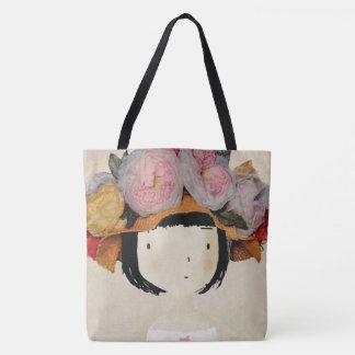 Fashion cover art tote bag