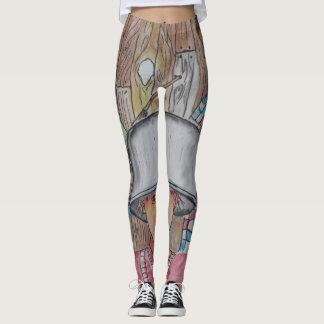 Fashion Created by Artist Phil Bracco Just For You Leggings