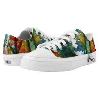 Fashion custom Zipz Low Top Shoes Beautiful