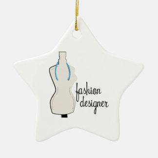 Fashion Designer Ceramic Ornament