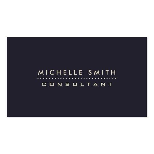 Fashion Designer Elegant Professional Modern Blue Business Card Templates